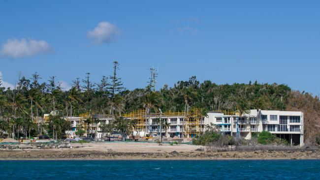 The rebuiding of Daydream Island is getting closer to completion. Picture: Marc McCormack