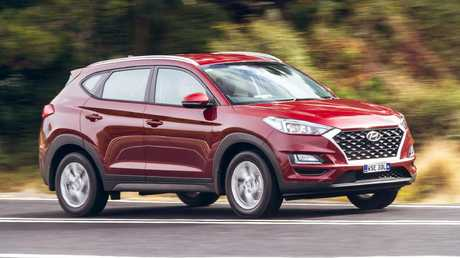 The Hyundai Tucson is a better drive than its Kia Sportage sibling but not quite as crisp as the Mazda CX-5. Picture: Thomas Wielecki.