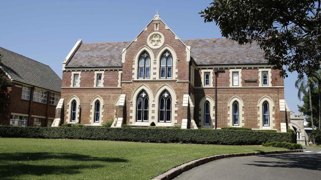 Brisbane Grammar School is a 150-year-old prestigious college for boys. Picture: AAP/Josh Woning
