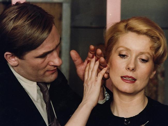 Gerard Depardieu (with Catherine Deneuve) in the 1980 French film The Last Metro. France's biggest international star faces a probe over alleged sexual assault. Picture: Supplied
