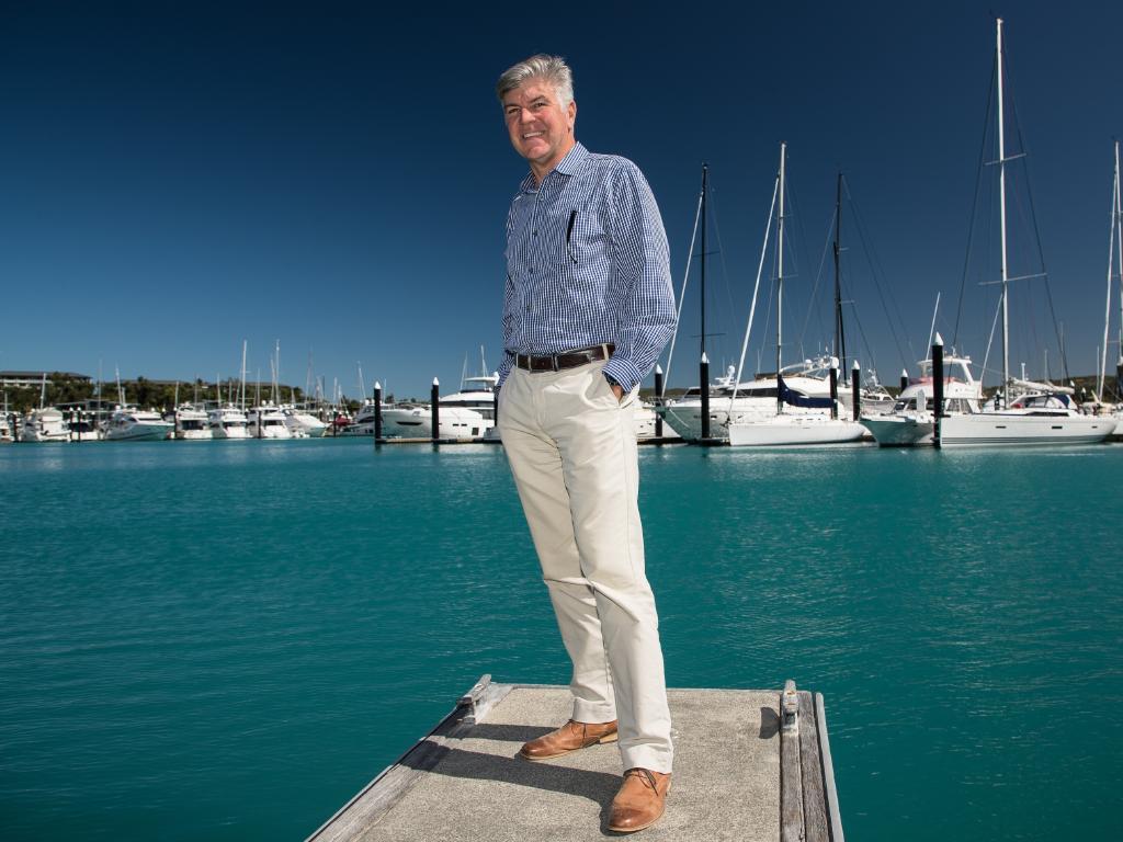 Hamilton Island Managing Director Glenn Bourke. Picture: Marc McCormack