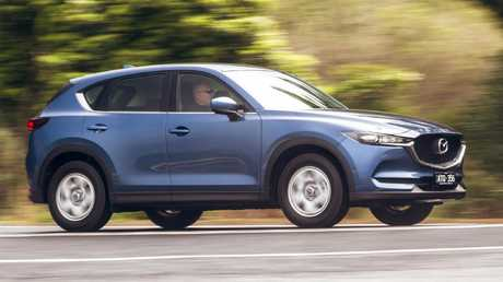 Recent updates to the Mazda CX-5 make it nicer to drive. Picture: Thomas Wielecki.