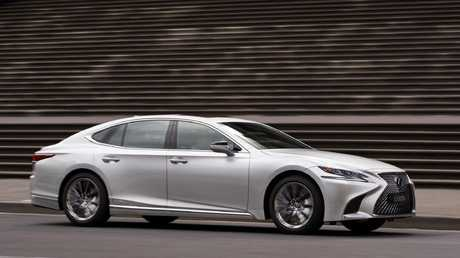 Lexus makes ambitious acceleration claims. It's no Mercedes AMG but 0 to 100km/h times just shy of 6 seconds are still quick enough for most tastes. Picture: Supplied.