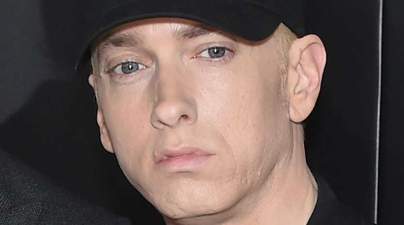Eminem broke the internet on Thursday. Picture: Dimitrios Kambouris