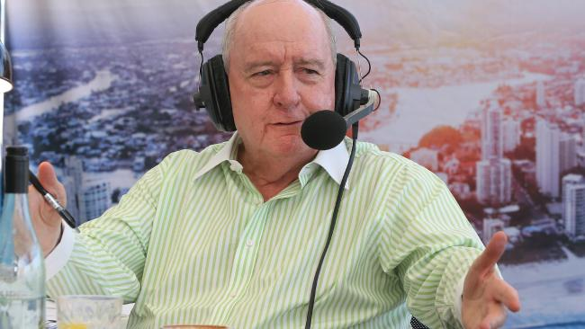 Radio shock jock Alan Jones has again caused outrage. Picture: Glenn Hampson