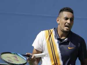 'I want to help you': Umpire's bizarre chat to Kyrgios