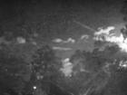 Meteor Shoots Across Night Sky
