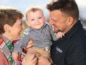 Mum in coma when son was born celebrates his first birthday