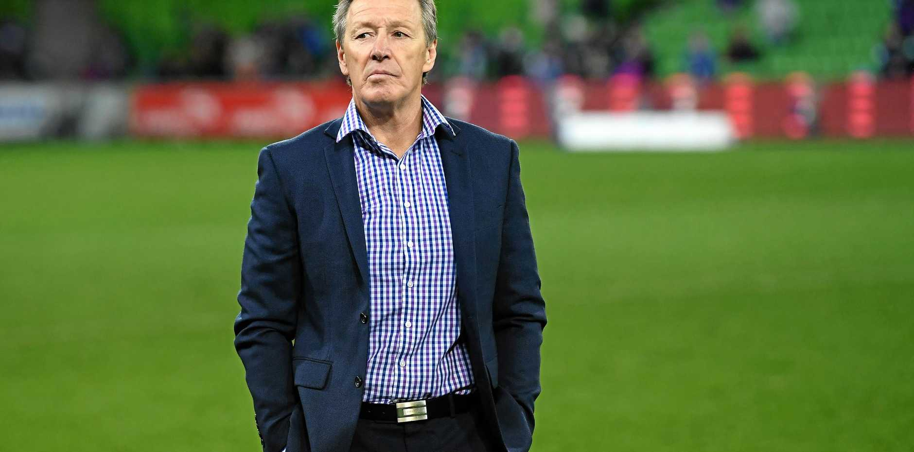 Whatever the circumstances, Melbourne Storm coach Craig Bellamy hates to lose. Picture: Julian Smith/AAP