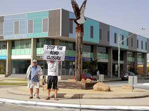 'Toxic' debate over closure of lake road