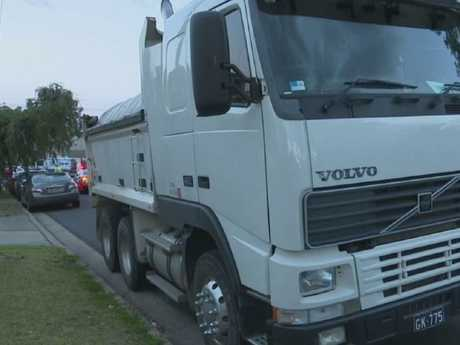 The truck driver was granted bail. Picture: TNV