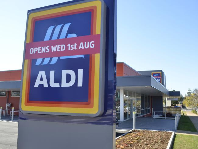 ALDI is going from strength to strength because Aussies trust the brand. Picture: David Alexander