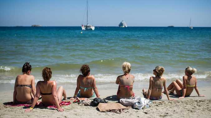 Ibiza is known for its sunny days and lively night-life but things have taken a darker turn this summer. Picture: David Ramos/Getty Images