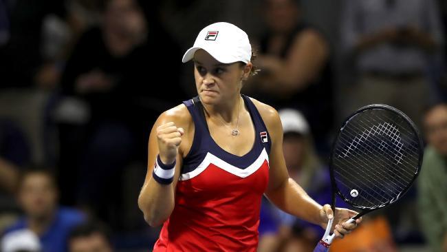 Ashleigh Barty made short work of giant-killing Czech qualifier Karolina Muchova. Picture: Matthew Stockman