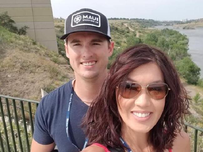 Erica Bivens and her husband Joe Draper. Picture: Facebook