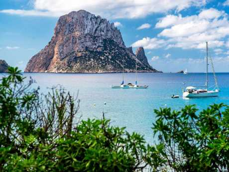 The popularity of Ibiza has contributed to Spain being one of the world's most-visited countries.