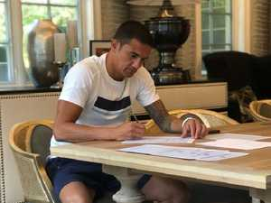 'The biggest signing': Cahill seals move to India