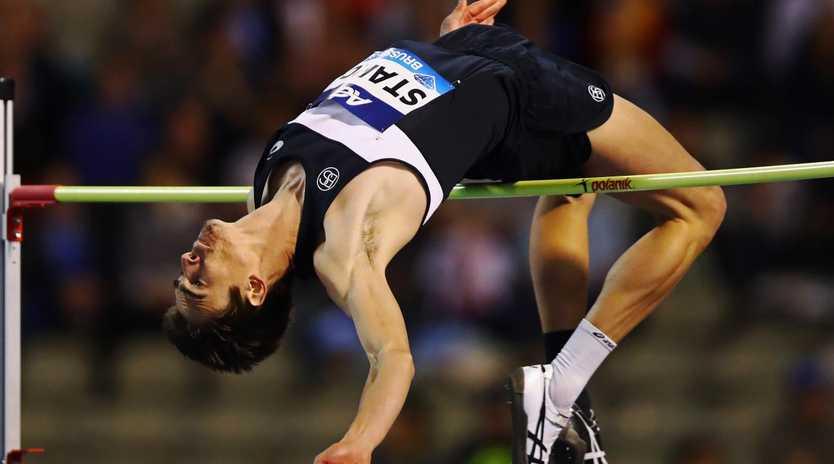 Aussie high jumper Brandon Starc has taken out the Diamond League event in Brussels.