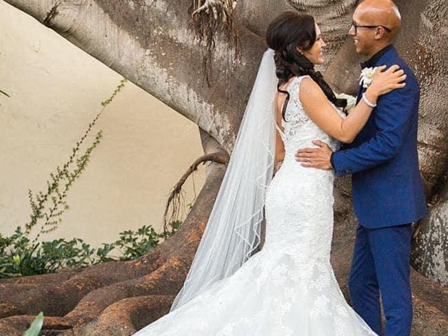 She married pastor Richard De La Mora in 2016. Picture: Barcroft Media/Getty Images