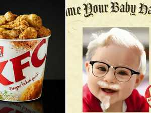 KFC will pay $11k if you name your baby after Colonel Sanders
