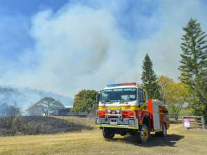 16 fire crews called to battle 500 acre blaze near Calliope