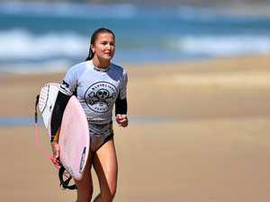Talented teen keen to carve out a career in surfing