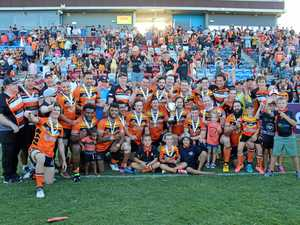 Tigers shelf first premiership trophy since 1982