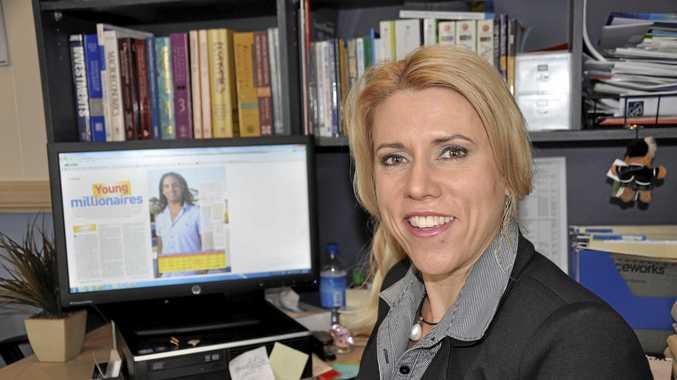 Award-winning financial planner Leanne McDonald.