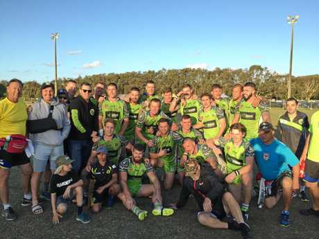 HISTORY MADE: The Raiders are through to the club's first-ever NRRRL grand final, taking on Ballina next Sunday at Kingsford Smith Park.