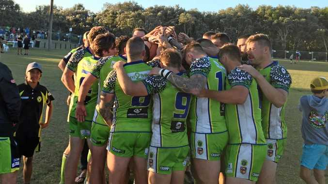 ONTO THE NEXT: The Tweed Coast Raiders are through to the 2018 NRRRL grand final.
