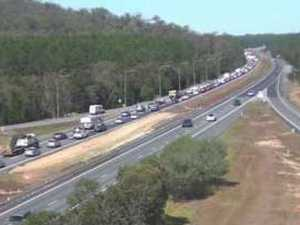 Serious multi-vehicle crashes leave Bruce Hwy in gridlock