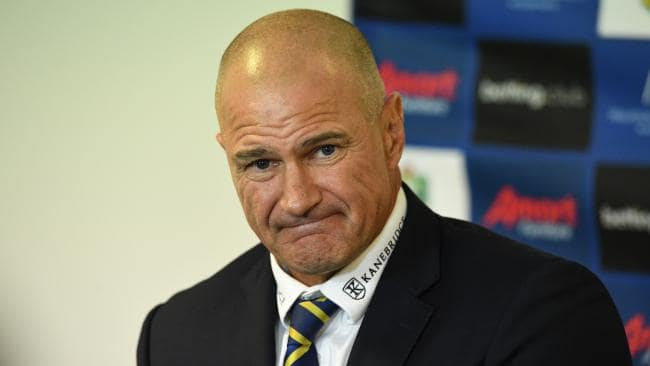Eels coach Brad Arthur will be feeling the pressure. Picture: AAP