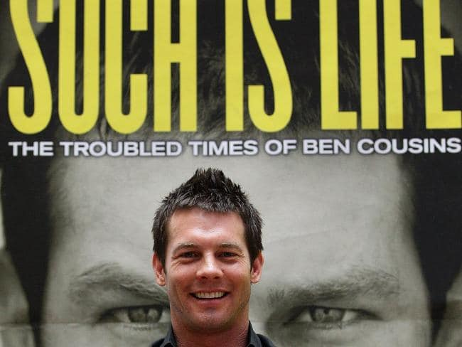 Ben Cousins revealed many struggles in a TV documentary.