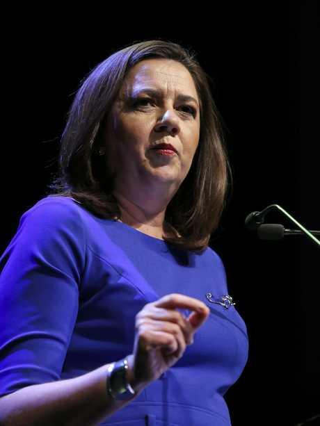 The Premier Annastacia Palaszczuk will withdraw money from the KAP.