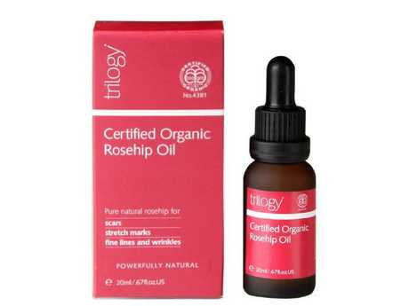 Trilogy's rosehip oil is a favourite of the Duchess of Cambridge.