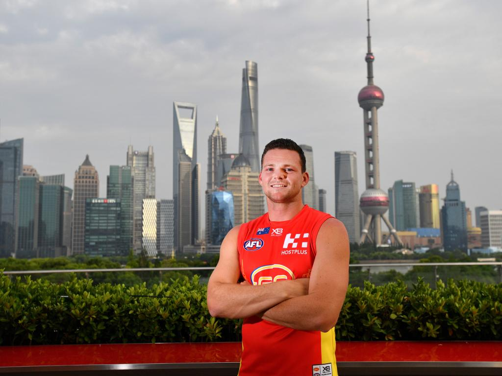 The Gold Coast Suns have revealed their future plans for the AFL fixture in China. Picture: AAP Image/David Mariuz.