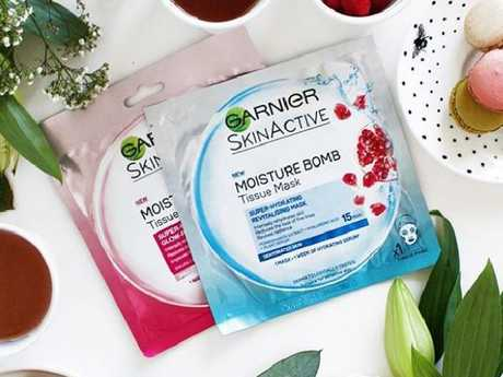 The $5 Garnier Hydra Bomb sheet mask.