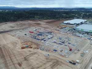 Australia Post Redbank construction