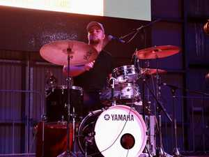 Rocky drummer takes stage with country music superstar