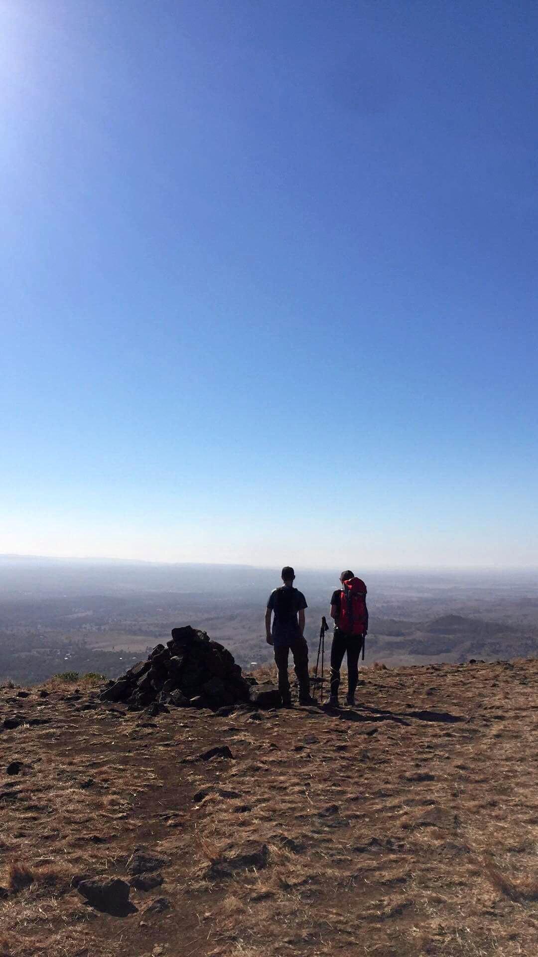 Juanita Anable (37) and Lewis Bell (17) of Rosewood will walk Kokoda next month.