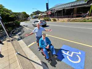 Locals fired up over changes to parking space