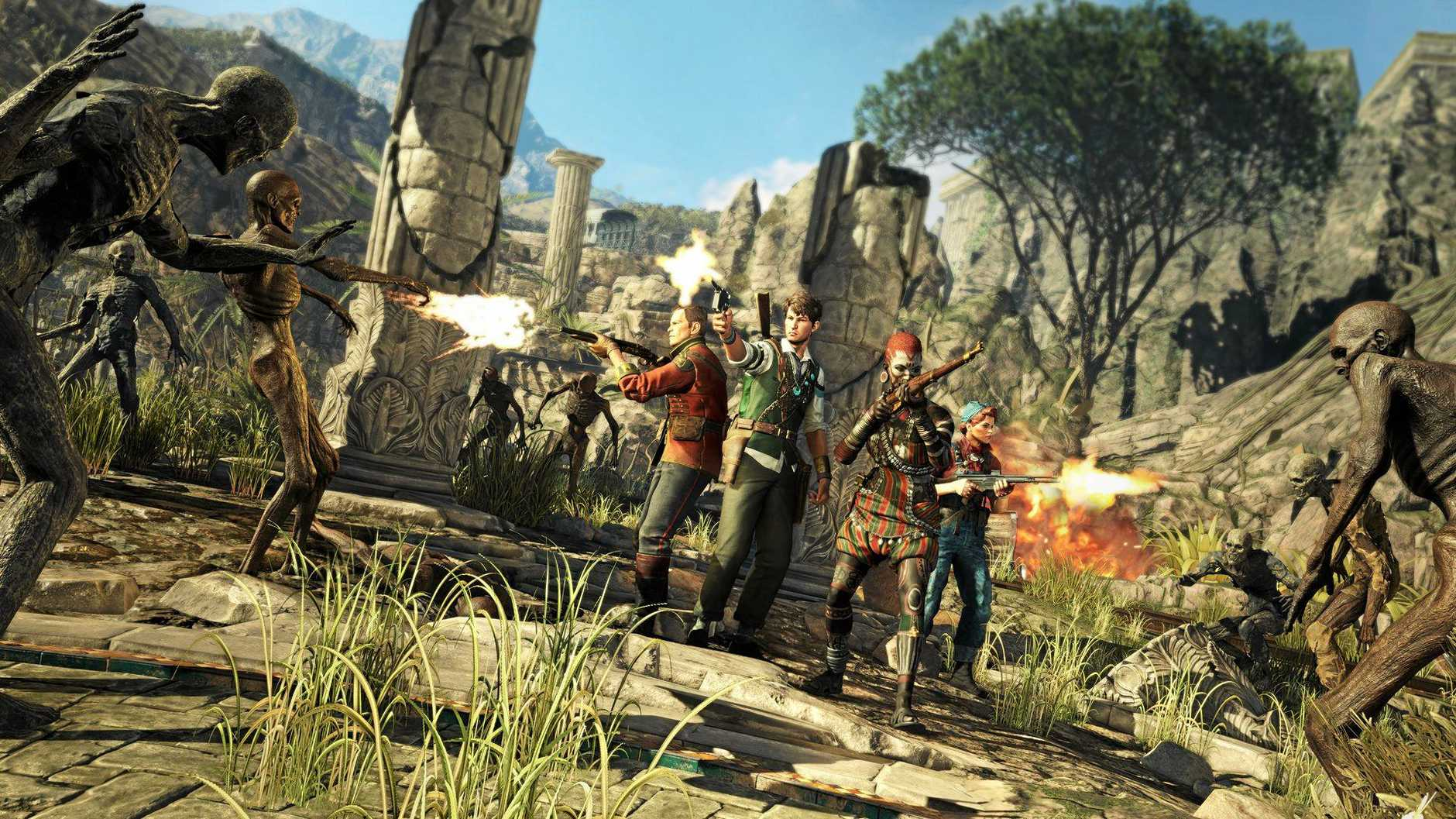 GOOD FUN: Strange Brigade was developed by Rebellion for PC, PlayStation 4 and Xbox One.
