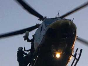 Injured hiker winched from top of mountain near Mackay