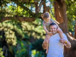 Former Rabbitohs player shares fatherhood joy after cancer