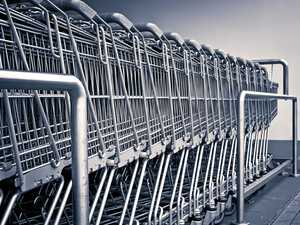 Wayward trolley foils shoplifter's $1000 theft