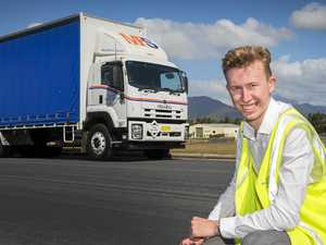 Lismore family's trucking history puts student behind wheel