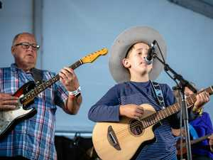 Nine-year-old Noah nails his Gympie Muster debut