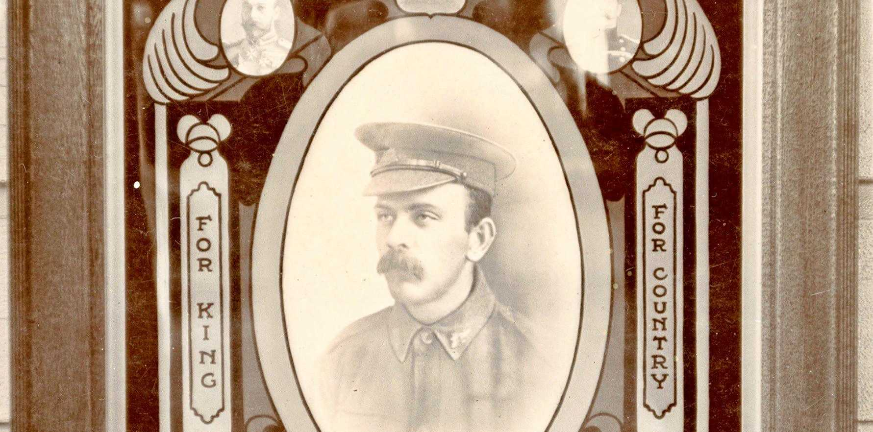 PICTURE IN TIME: A portrait of William Gawith  from the Australian War Memorial Collection.