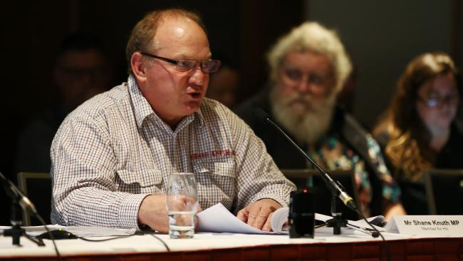 Member for Hill Shane Knuth. PICTURE: BRENDAN RADKE.