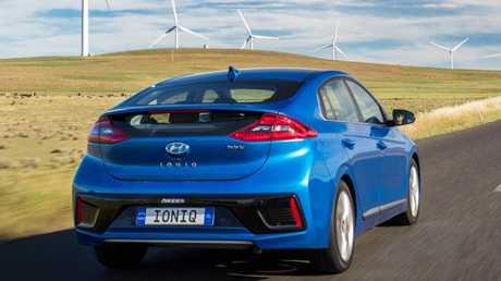 Ioniq Hybrid: Stand-out styling … but not too far out